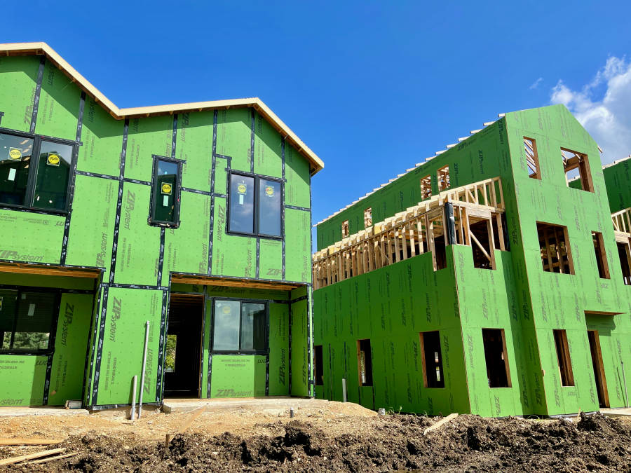 Construction Update: Literally Green Buildings!